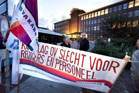 kaalslag, ov, protest, openbaar vervoer