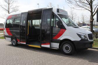 Tribus, Civitas Economy, Lagevloer minibus, Mercedes-Benz, rolstoelbus