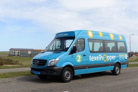 Texelhopper, lagevloer, minibus, foto: Liselotte Schoo