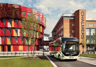 Elektrische bus, Volvo, Gothenburg, Zweden