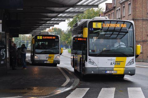 Elektrische bussen, De Lijn, Brugge