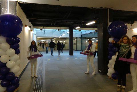 Opening passagierstunnel Eindhoven, NS, ProRail