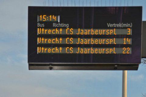 Haltepaneel, Utrecht