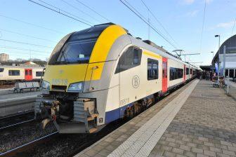 Elektrische Desiro-trein, NMBS, spoorlijn Herentals-Mol