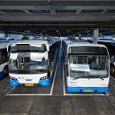 GVB, bus, garage, bron: GVB Verbindt