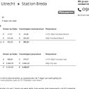 OV Prijswijzer, 9292, Utrecht