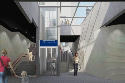 Metrostation Oostlijn, Amsterdam