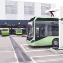 Electric Volvo bus charger, ABB