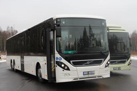 Volvo, OV-bussen, Zweden, VDS
