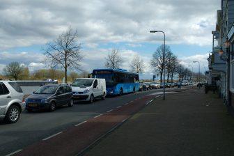 Bus, file, Kampen