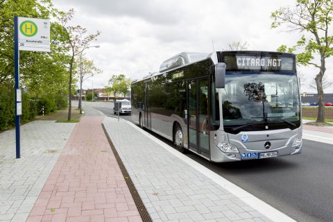 Mercedes-Benz, CItaro NGT, Mannheim