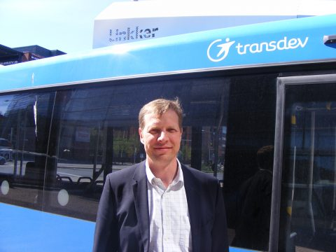 Linkker Bus, Tom Granvik