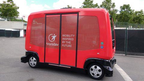 Transdev, zelfrijdend voertuig