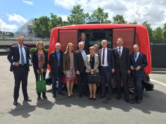 Transports Publics, KNV, ministerie IenM, delegatie