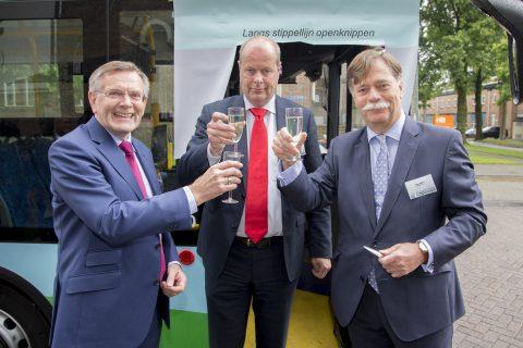 Presentatie waterstofbus Syntus, Cees Anker