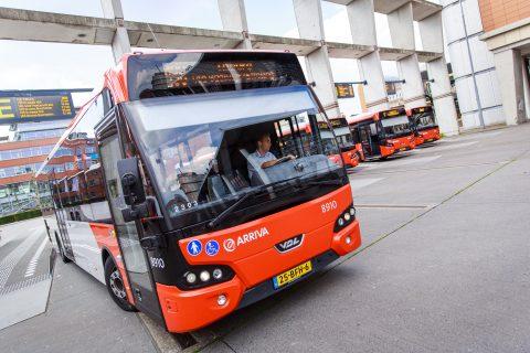 Arriva, Den Bosch, bushalte