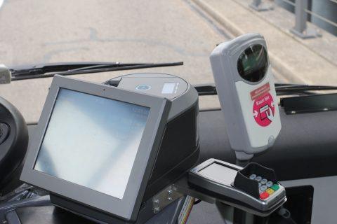 Ticketbox, pinapparaat, OV-chipkaartlezer