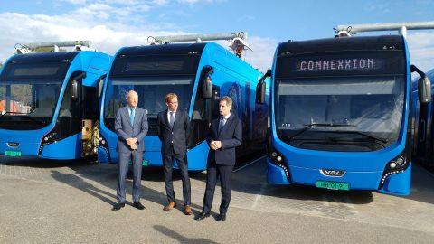 Hermes, Connexxion, elektrische bussen