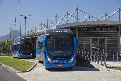 Volvo, BRT, Brazilië, Rio de Janeiro