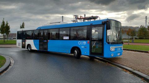 Linkker-bus in Rotterdam