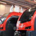 Deze R-net-treinen gaan op het spoortraject Alphen aan de Rijn-Gouda rijden