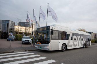 Zero emissie-bus van Ebusco
