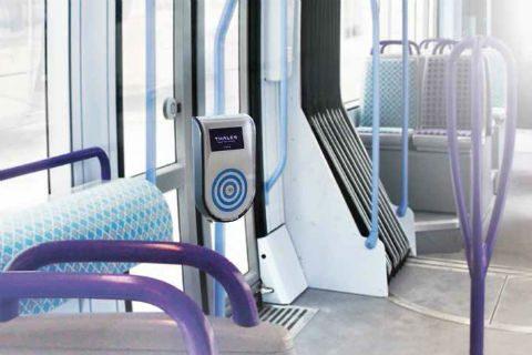 OV-paal, tram, Thales1