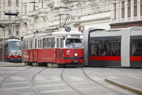 Strassenbahn in Wenen (bron: ViPress)