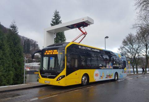 Volvo Electric Hybrid van TEC-group