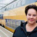 Staatssecretaris Sharon Dijksma van het ministerie van Infrastructuur en Milieu
