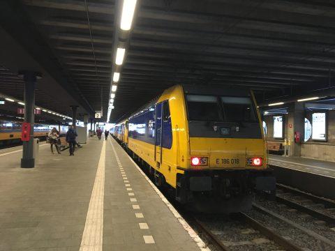 Intercity, Den Haag, Eindhoven, HSL