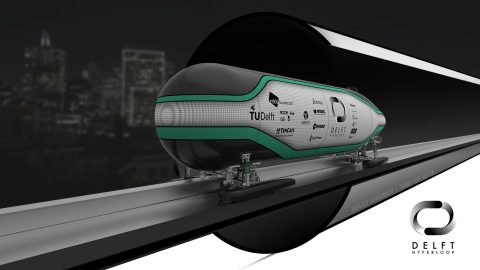 Hyperloop illustratie (foto: NS)