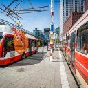elektrische bus, Den Haag, tram, bovenleiding
