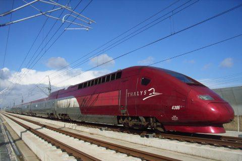 Thalys op spoor ( foto: NS)