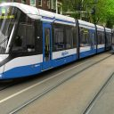 De 15G trams van treinfabrikant CAF waarmee het GVB gaat rijden