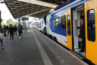Conducteur bij Sprinter op station Tilburg