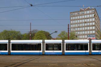 GVB tram Amsterdam (bron: GVB Verbindt)