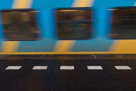 Passerende trein (foto: NS)