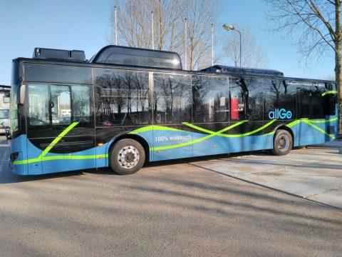 Elektrische bus allGo Almere Keolis