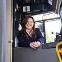 GVB, personeel, tramchauffeur, vrouw ( foto: GVB Verbindt)