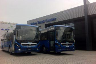 Volvo Qliners in Groningen