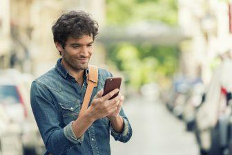 Smartphone, app, MaaS. Foto: iStock / LDProp