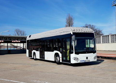 Mercedes-Benz, Citaro, elektrische bus, Stuttgart