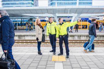 Veiligheid & Service Medewerkers op Arnhem (foto: NS)