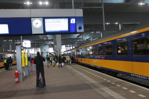 Intercity Brussel via Breda