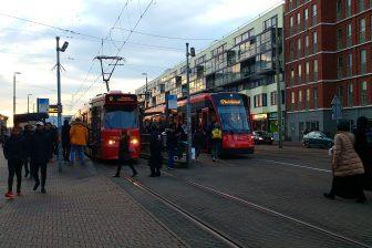 Trams op Den Haag HS