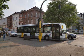 Bus van de Lijn in Mechelen