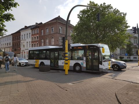 Bus van de Lijn in Mechelen