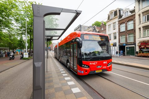 R-net bus in Amsterdam van Connexxion
