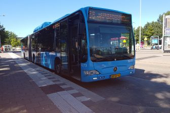 Bus van Syntus in Ede-Wageningen